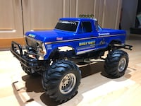 Tamiya rerelease 1/10 scale Bruiser rc 4x4 truck  Vancouver, V5P