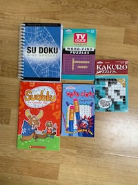 Sudoku and Word Search puzzles
