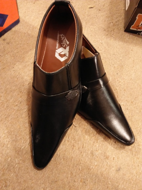 Black & Brown Stylish Formal Shoes For Men