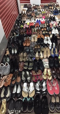 Lot of 340 pairs of mixed clean shoes  Hyattsville, 20782