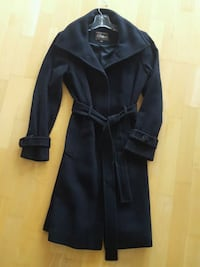 Cole Haan Womens Black Coat Chicago