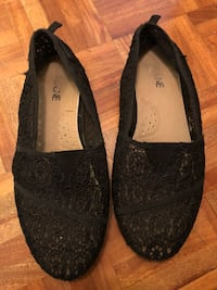 pair of black suede flats Mississauga, L4Y 4E2