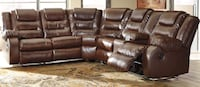 Reclining sectional  Elgin
