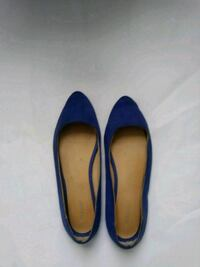 pair of blue suede pointed-toe flats Nashville, 37206