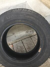Black auto tire with tire Vaughan