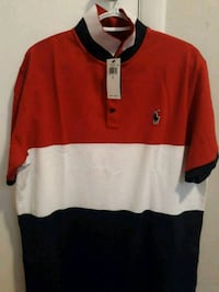 red and black Ralph Lauren polo shirt Orem, 84097