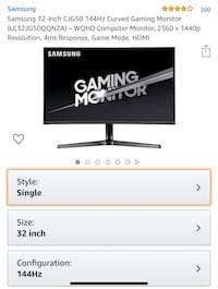32in 1440p 144hz gaming monitor