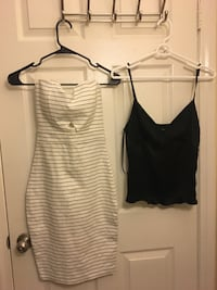women's two white and black tank tops San Diego