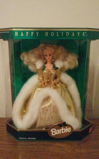 Holiday collection Barbie Dolls