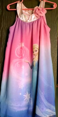 Frozen girl dress size 6x North Canton