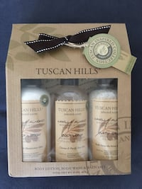 Tuscan Hills Body Lotion, Body Wash & Bath Salt 30 km