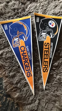 steelers and chargers banner Santa Rosa, 95405