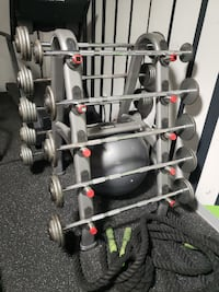 TKO Barbell Rack With Weights Baltimore