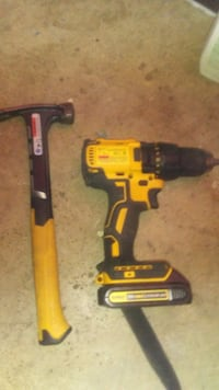 20V MAX BRUSHLESS DRILL DRIVER  WITH HAMMER AND BATTERY London