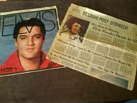 Old Elvis papers  Pevely, 63070