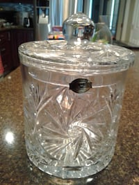 Ice Jar - 24% Lead Crystal  (new)