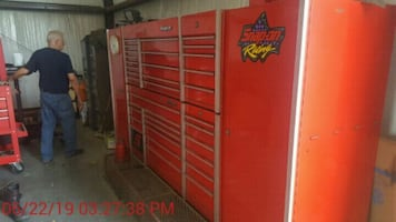 Snap-on tools and boxes