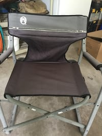 Coleman folding arm chair camper chair