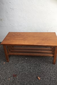 Solid wood coffee table Montréal, H1P 1S2