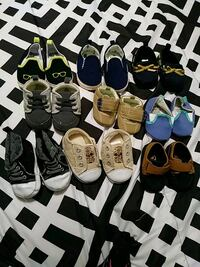 Baby boy shoes $5 each or negotiable San Angelo, 76904