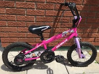"Girls 14"" Disney Jill No Rules Bike"