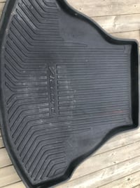black WeatherTech rubber vehicle mat Edmonton, T6B