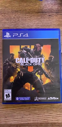 Call of Duty Advanced Warfare PS4 game case Vancouver, V6K 2A5
