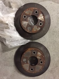 Nissan between 2001 -2005 front back disk rotor & caliber 4 bolt !!