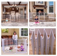 """New, unused.. Regalo 192"""" Wide Configurable Baby Safety Gate St Thomas, N5R 6M6"""