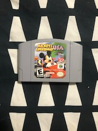 Nintendo N64 Game Mickeys Speedway USA  Brantford, N3R 2E3