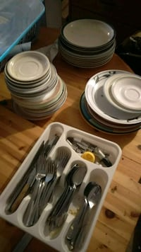 Silverware and plates!! Abbotsford, V2S 7G7