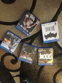 80 for all the ps4 games  Winnipeg, R3P 0R2