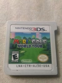 Mario Golf world tour for 3DS