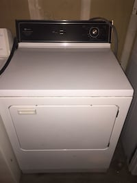 Free Delivery White-and-black front-load clothes dryer electric Las Vegas, 89106