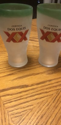 Two DOS EQUIS beer pint glasses Mesa, 85205