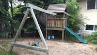toddler's brown and gray outdoor play set St Albert, T8N