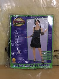 Flapper Girl Adult Halloween Costume Vaughan, L4H
