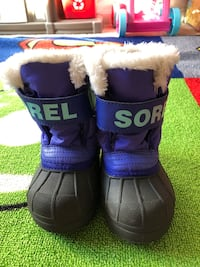 Toddler/Little Kids Snow Boots - Sorel Snow Commander Boots Size 7