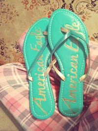 Turquoise American Eagle sandals Prineville, 97754