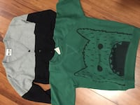 green and black crew-neck t-shirts Springfield, 22152