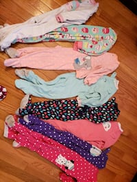 Size 2t fleece sleepers Centreville, 20120