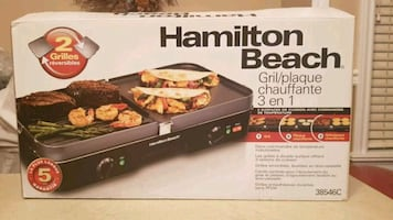 Hamilton Beach , Grill and Griddle