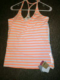 brand new ladies reebok gym tank size L York, 17403