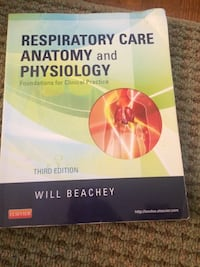 Respiratory text book Lanham, 20706
