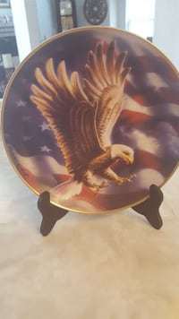 Franklin Mint collector plate-numbered El Paso, 79936