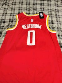 Russell Westbrook Rockets jersey Size 2x  Lincoln, 68521