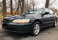 2001 Honda Accord 3.0 EX 4AT w/Leather Silver Spring