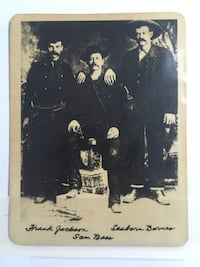 Historical outlaws Sam gang Vintage ,with signature print Calgary, T3N