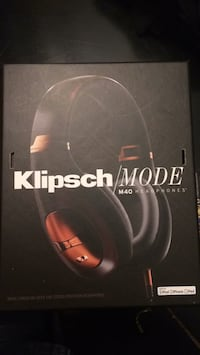 Klipsch M40 Noise Cancelling headphones. Excellent condition, hardly used with a $300 retail price   Camp Hill, 17011