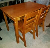 Solid Maple, Kids Table & Chair set Hatfield, 19440